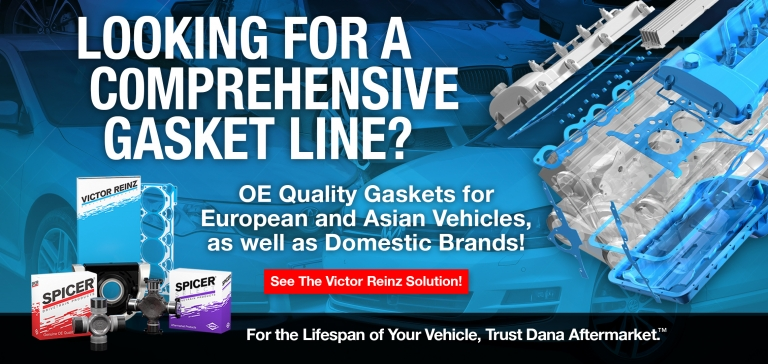 Gaskets for European and Asian Vehicles
